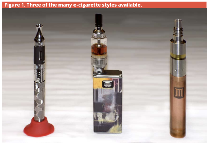 e-cigarette types